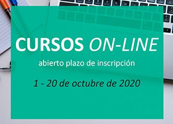 Apertura plazo de inscripción cursos online