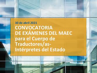 CONVOCATORIA MAEC