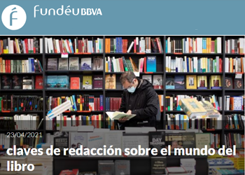 Recomendación Fundéu: «Claves de redacción sobre el mundo del libro»