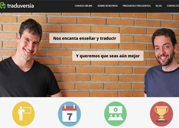 Entrevista a TRADUVERSIA, un espacio que ofrece cursos online, creado por y para traductores.